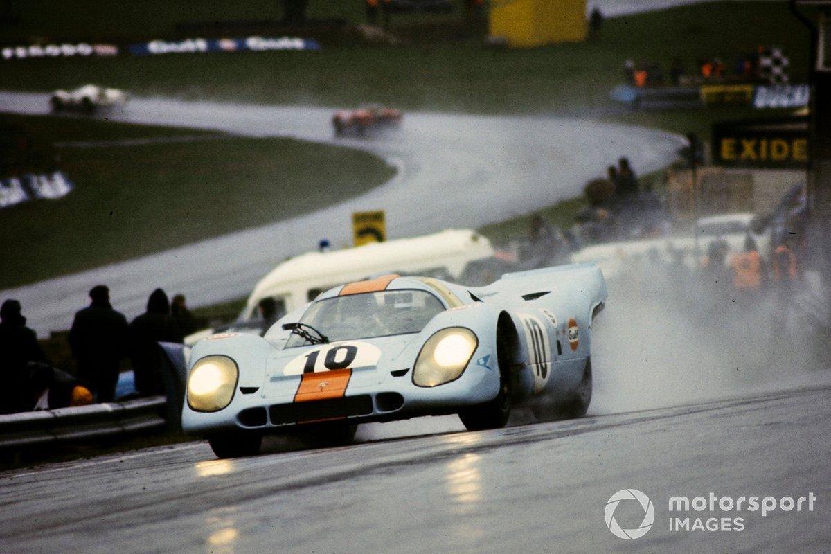 Pedro Rodriguez, Porsche 917K op Brands Hatch (1970)