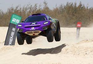 Cristina Gutierrez, X44 Sebastien Loeb, X44, jump