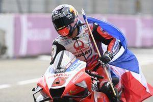 Second place Johann Zarco, Pramac Racing