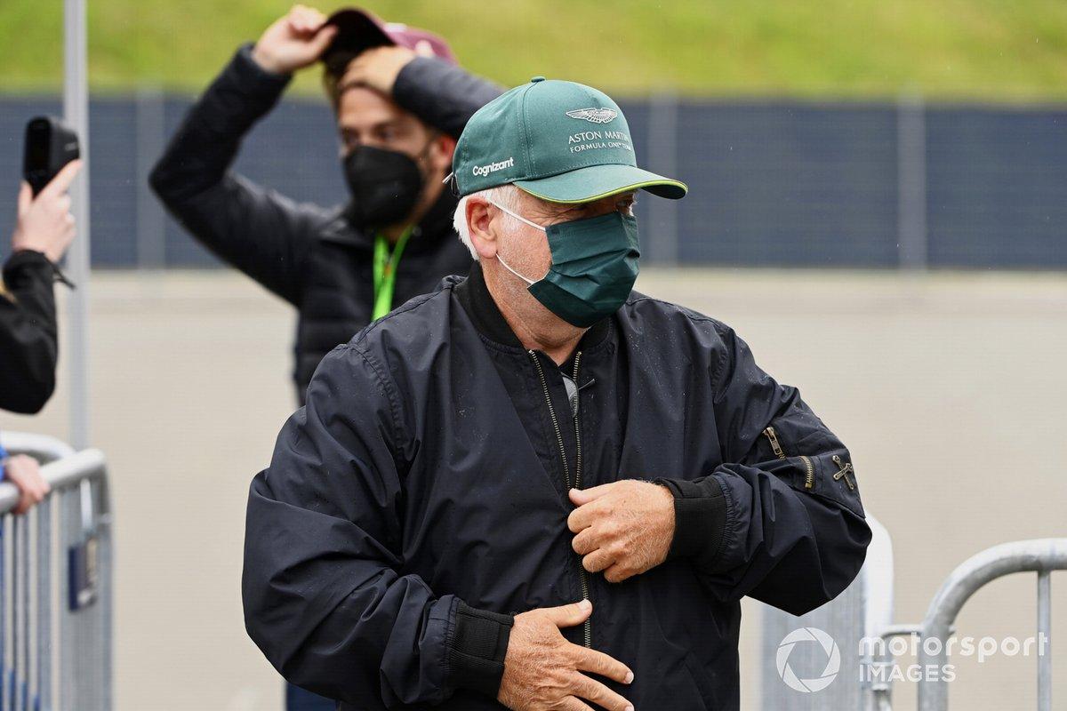 Norbert Vettel, padre de Sebastian Vettel