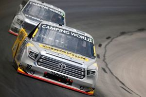 Grant Enfinger, ThorSport Racing, Toyota Tundra Champion/Curb Records, Ben Rhodes, ThorSport Racing, Toyota Tundra Bombardier LearJet 75