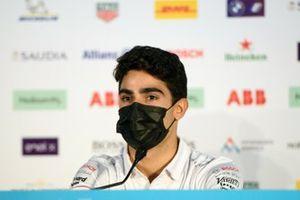 Sergio Sette Camara, Dragon Penske Autosport, in the Press Conference