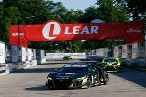 #86 Meyer Shank Racing w/Curb-Agajanian Acura NSX GT3, Mario Farnbacher, Matt McMurry, Shinya Michimi