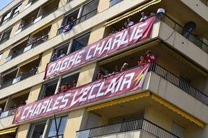 Support for Charles Leclerc, Ferrari