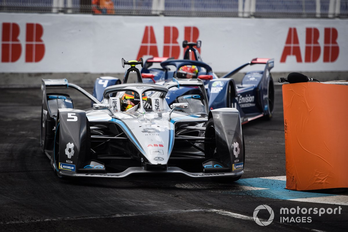 Stoffel Vandoorne, Mercedes-Benz EQ, EQ Silver Arrow 02, Robin Frijns, Envision Virgin Racing, Audi e-tron FE07