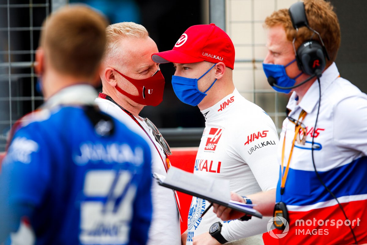 Dmitry y Nikita Mazepin, Haas F1