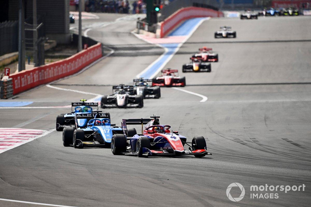 Jack Doohan, Trident y Victor Martins, MP Motorsport