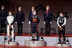 Dan Ticktum, Carlin, Liam Lawson, Hitech Grand Prix, y Oscar Piastri, Prema Racing