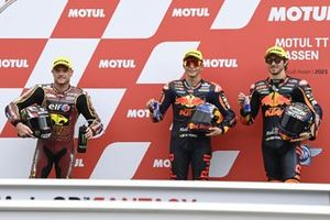 Raul Fernandez, Red Bull KTM Ajo, Remy Gardner, Red Bull KTM Ajo, Sam Lowes, Marc VDS Racing Team