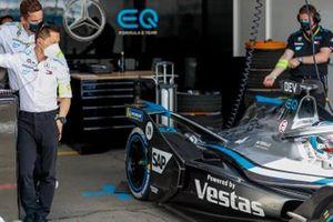 Albert Lau, ingénieur de course pour Mercedes Benz EQ