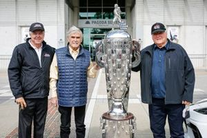 Rick Mears, Al Unser, A.J. Foyt