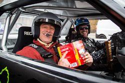 Top Gear-opnames in Londen met Matt LeBlanc en Ken Block