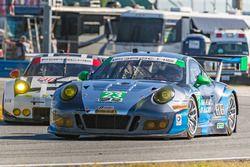 #23 Team Seattle/Alex Job Racing Porsche GT3 R : Ian James, Mario Farnbacher, Alex Riberas, Wolf Henzler