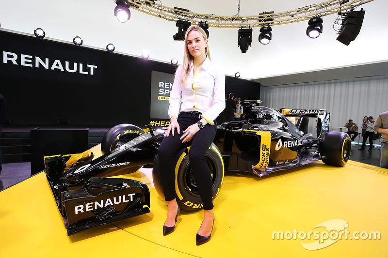 Carmen Jorda, mantan pembalap pengembangan Renault F1 Team