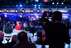 La atmósfera de la Conferencia de prensa