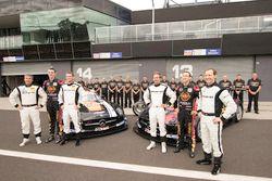 Maro Engel, Bernd Schneider, Austin Cindric, Erebus Motorsport Mercedes and David Reynolds, Thomas J