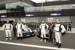 Maro Engel, Bernd Schneider, Austin Cindric, Erebus Motorsport Mercedes und David Reynolds, Thomas J