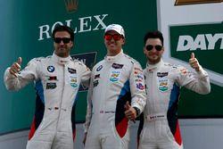 Лукас Лур, Куно Виттмер и Грэм Рейхол, #100 BMW Team RLL BMW M6 GTLM