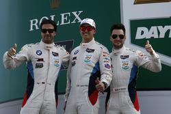 #100 BMW Team RLL BMW M6 GTLM : Lucas Luhr, Kuno Wittmer, Graham Rahal