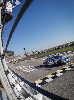 Jimmie Johnson, Hendrick Motorsports Chevrolet geht in die letzte Runde