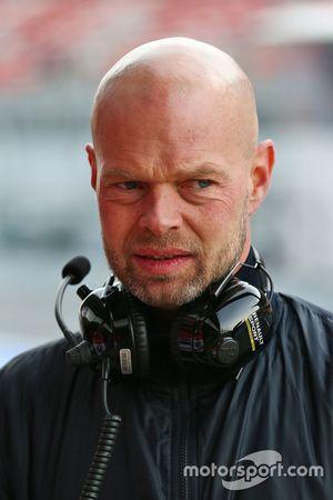 Jan Magnussen, father of Kevin Magnussen, Renault Sport F1 Team