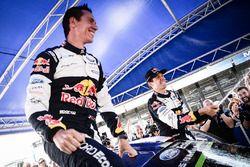 Yarış galibi Sébastien Ogier, Julien Ingrassia, Ford Fiesta WRC, M-Sport