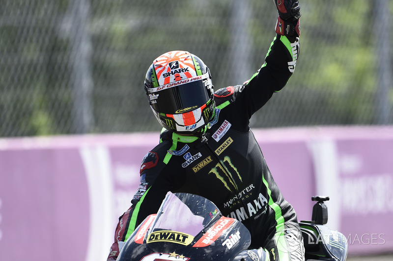 Second place Johann Zarco, Monster Yamaha Tech 3