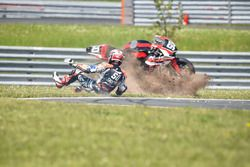 #50 Team April Moto Motors Events, Honda CB R1000 RR: Gregory Leblanc, Grégory Fastré, Matthieu Lagrive