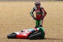Sam Lowes, Aprilia Racing Team Gresini dopo l'incidente