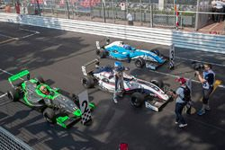 Race winner Will Palmer, R-ace GP, second place Sacha Fenestraz, Josef Kaufmann Racing, third place Max Defourny, R-ace GP