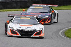 #43 RealTime Racing, Acura NSX GT3: Ryan Eversley, Tom Dyer; #93 RealTime Racing, Acura NSX GT3: Pet