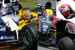 Les rookies de la F1