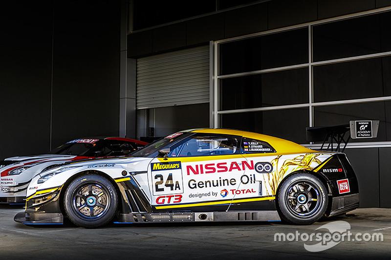 Nissan GT-R NISMO GT3 livery voor Bathurst
