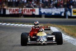 Nelson Piquet, Williams FW11, Keke Rosberg, McLaren