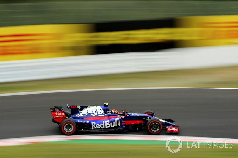 19: Carlos Sainz Jr., Scuderia Toro Rosso STR12 (inc. gridstraf van 20 plaatsen)
