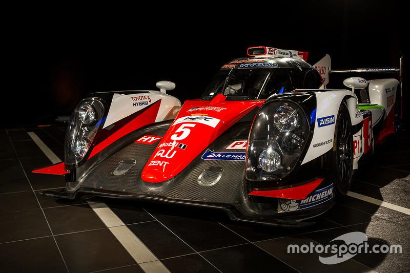 Toyota LMP1 en exhibición