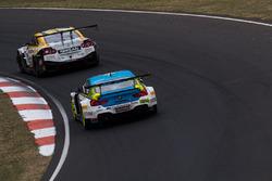 #60 BMW Team SRM, BMW M6 GT3: Steve Richards, Mark Winterbottom, Marco Wittmann, #24 Nissan Motorspo