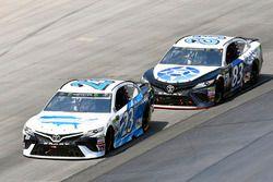 Gray Gaulding, BK Racing, Toyota; Ryan Sieg, BK Racing, Toyota