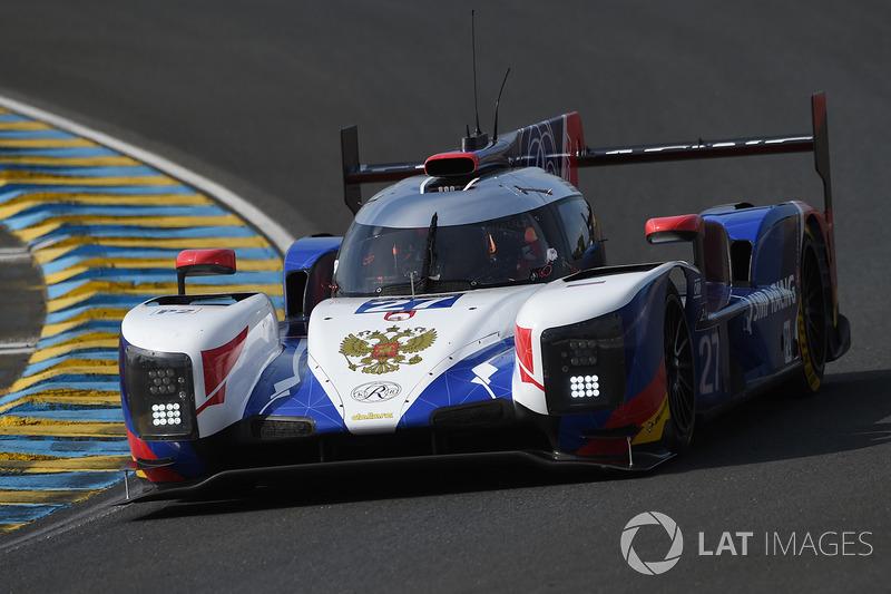 LMP2: #27 SMP Racing, Dallara P217 Gibson