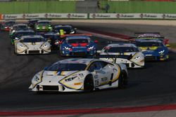 Lamborghini Huracan, S.GTCup #116: Cazzaniga-D'amico, Vincenzo Sospiri Racing