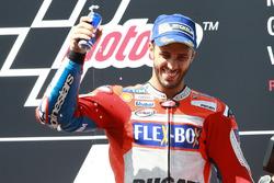 Podyum: Yarış galibi Andrea Dovizioso, Ducati Team