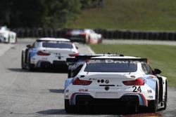 #24 BMW Team RLL BMW M6 GTLM: John Edwards, Martin Tomczyk, #57 Stevenson Motorsports Audi R8 LMS GT