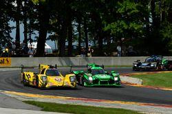 #85 JDC/Miller Motorsports ORECA 07: Stephen Simpson, Mikhail Goikhberg, #22 Tequila Patron ESM Niss