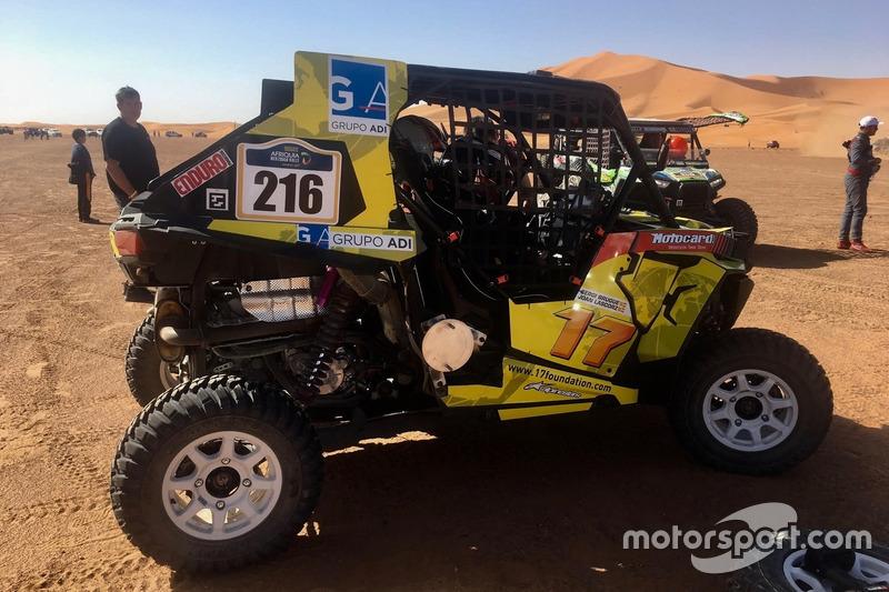 #310 Joan Lascorz, Dakar Challenge, Buggy RZR XP 1000