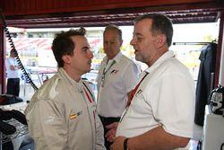 F1 Experiences 2-Seater passagier Frankie Muniz, Acteur en Paul Stoddart
