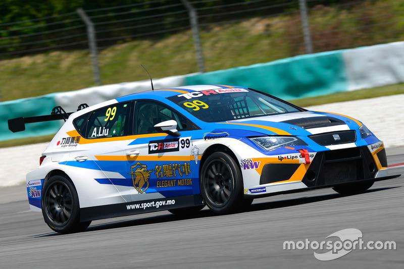 Alex Liu Lic Ka, Elegant Racing Team, SEAT Leon TCR