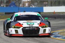 23 Alex Job Racing Audi R8 LMS GT3: Bill Sweedler, Townswend Bell, Frankie Montecalvo