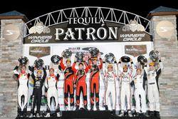 PC-Podium: 1. #38 Performance Tech Motorsports, ORECA FLM09: James French, Kyle Mason, Patricio O'Wa