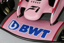 Sahara Force India F1 VJM10 detalle de ala delantera