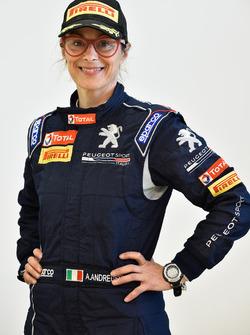 Anna Andreussi, Peugeot 208 T16, Peugeot Sport Italia